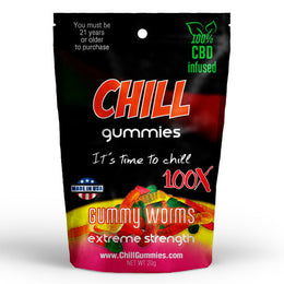 CHILL GUMMIES - CBD INFUSED GUMMY WORMS