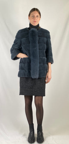 Mink Fox Jacket