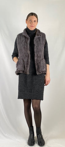 grey,knit,mink,vest,sleeveless,silver,white,fox,arctic,shawl,layer,cape,vest,cropped,wrap,stole,sleeveless,winter,fall,evening,date night,event,pictures,bridal,bride,bridesmaid,bridal party,bachelorette,registry,bridal shower,maid of honour,blush,grey,brown,beige,ivory,cream,light,furrier,genuine,real fur,fur,furry,fuzzy,animal,soft,warm,cosy,excellent,excellence,classic,gorgeous,elegant,beautiful,luxurious,romantic,sexy,popular,casual,timeless,simple,wonderland,exclusive,chic,stylish,style,comfort,lightwei