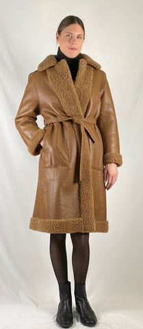 Shearling Belted Reversible