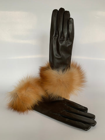 fox, trim, leather, gloves, lambskin, cold weather, winter, fall, evening, furrier, genuine, real fur, fur, soft, warm, cosy, classic, gorgeous, elegant, beautiful, luxurious, timeless, simple, wonderland, exclusive, chic, stylish, style, comfort, vintage, modern, new, custom, quality, made to measure, eco friendly, heritage gallery, galerie, www.heritagegallery.ca, black, navy, cream, heritage, montreal, local, high quality, international shipping, shipping, usa, europe, touch screen, iphone, size, red