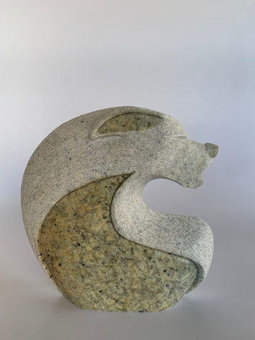 mother, daughter, grand-mother, six nations, Soapstone, sculpture, carving, inuit, serpentine, green, inukshuk, seal, faceloon, bird, handcrafted, made in canada,canadian, Canadian made, Canadian heritage,montreal, old port, local, high quality, international shipping, shipping, usa, europe, heritage gallery, heritage galerie, www.heritagegallery.ca, cape doest, iqualuit, native, igloo, eskimo, north, art stone, rock, artist, drummer, dancing, man, caribou bone, spirit, iroquois, wolf, negana'wu'u, carving