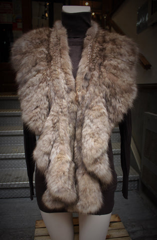 Sable Fur Shawl