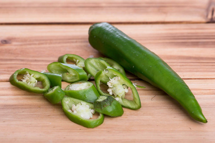 Hot Green Pepper (Moderate) - 虎皮辣椒 (中辣) (300g)