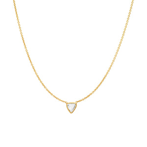Rose Cut Diamond Necklace No. 48