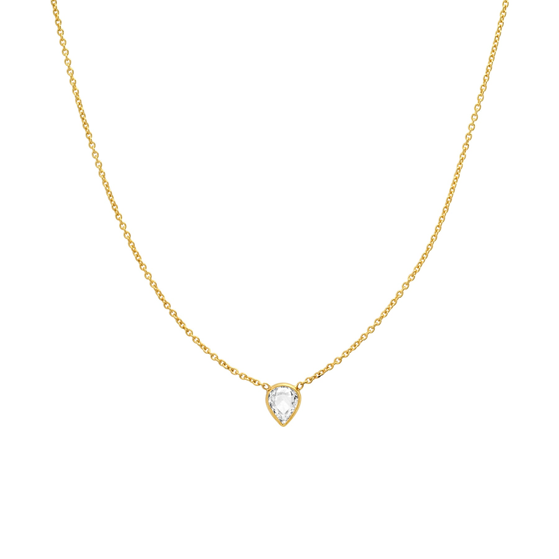 Rose Cut Diamond Necklace No. 49