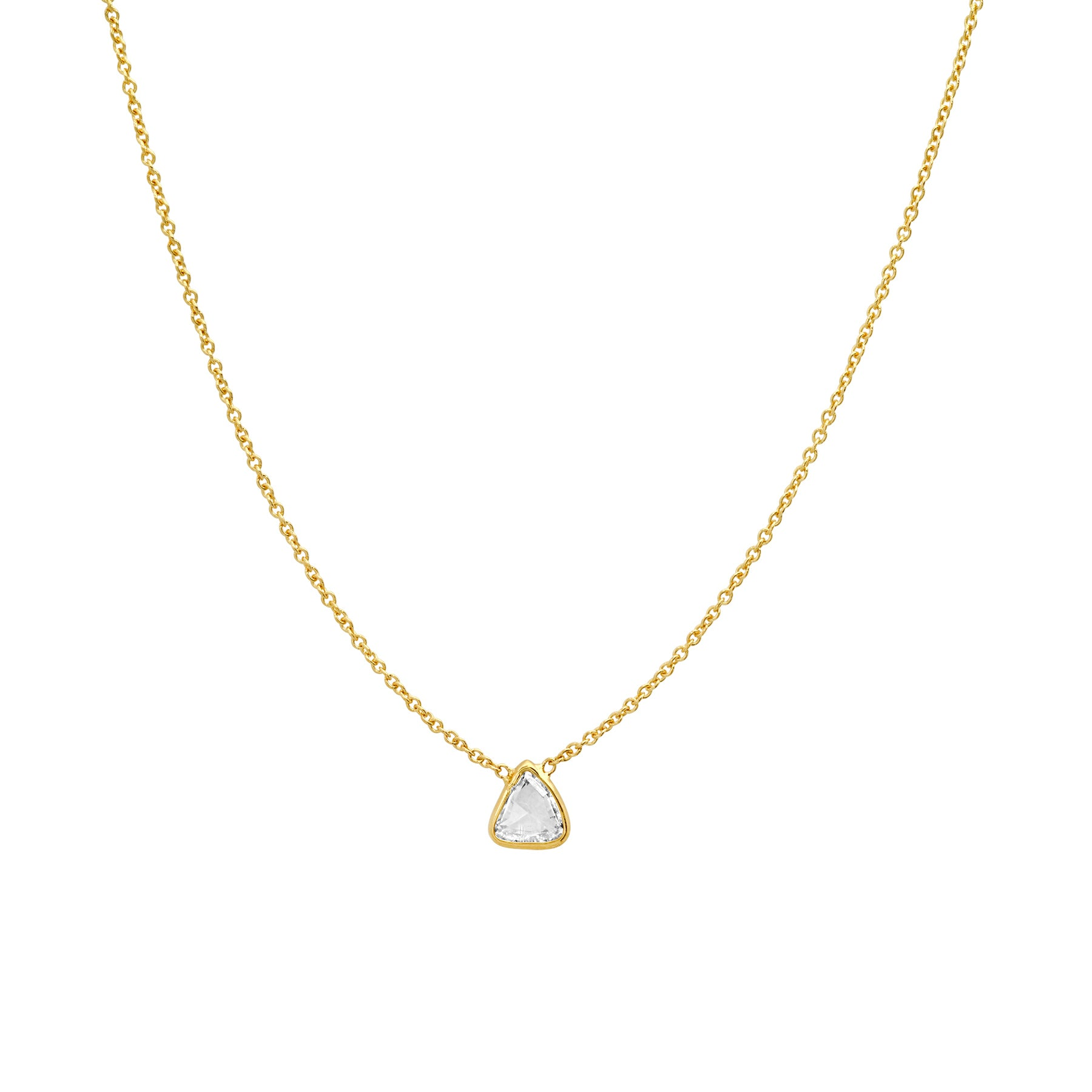 Rose Cut Diamond Necklace No. 52