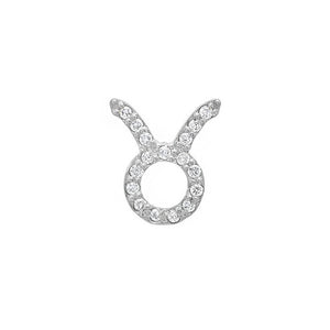 Diamond Taurus Earring