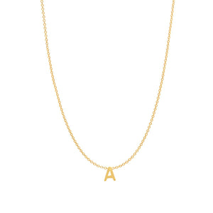 Fine Initial Necklace