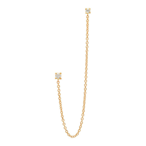 Pipeline Necklace 14K
