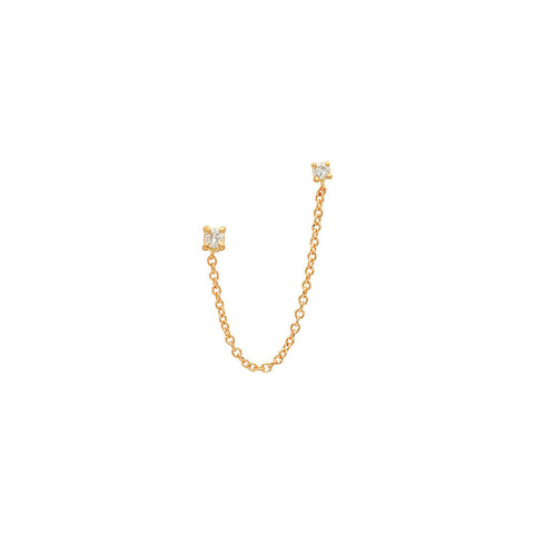 Name Charm 14K Rose Gold