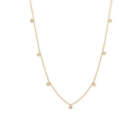 Initial & Diamond Necklace