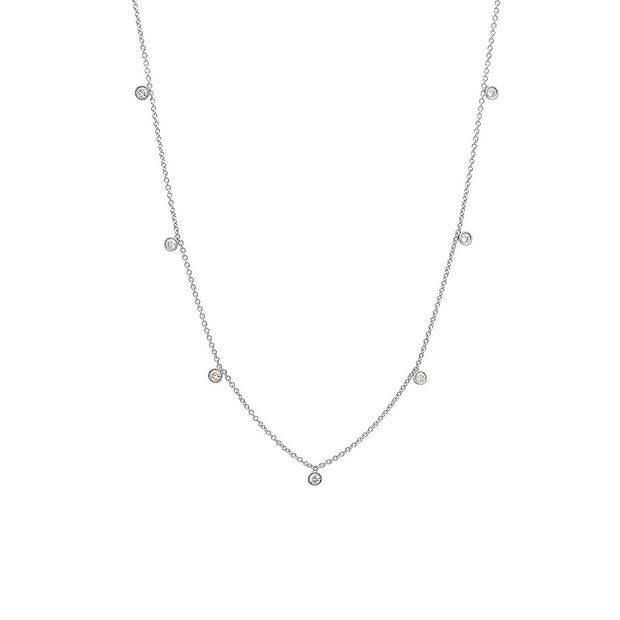 7 Diamond Necklace