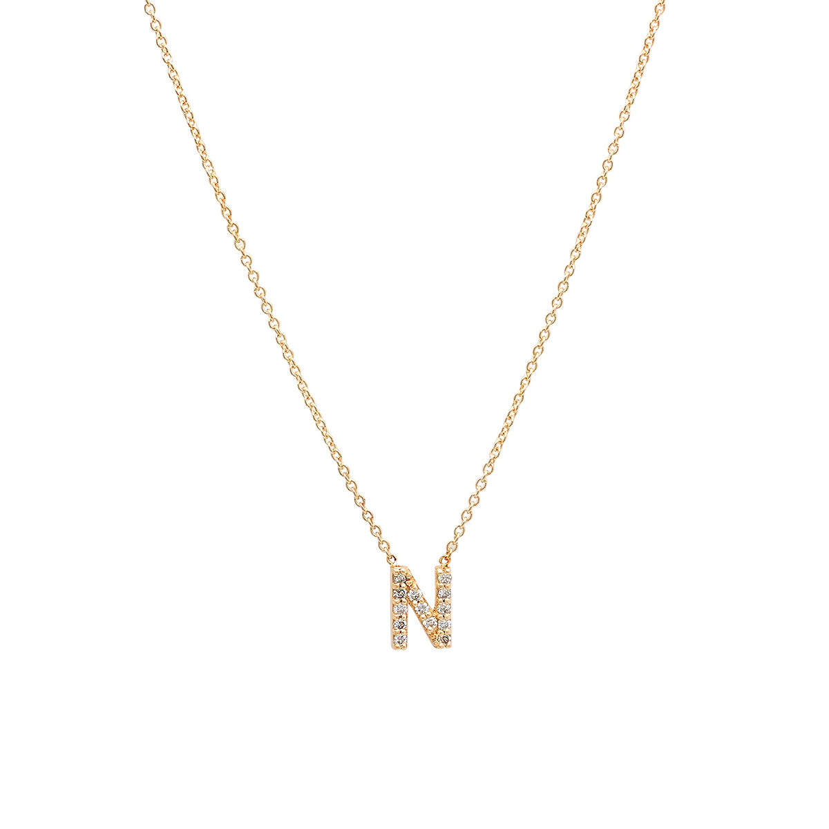 2860d60b80323 Diamond Initial Necklace $475.00 or 4 interest-free installments of $118.75  by More info