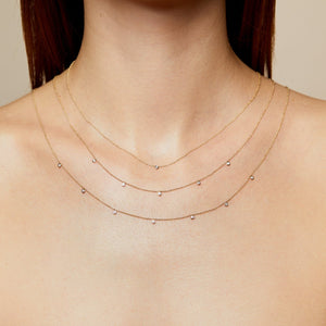 5 Diamond Necklace