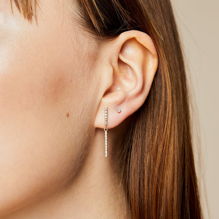 Mini Diamond Earring
