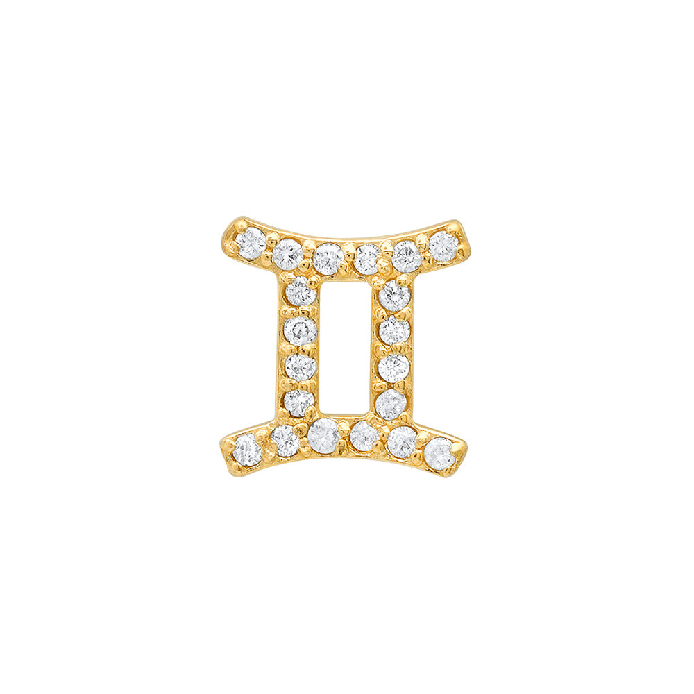 Diamond Gemini Earring