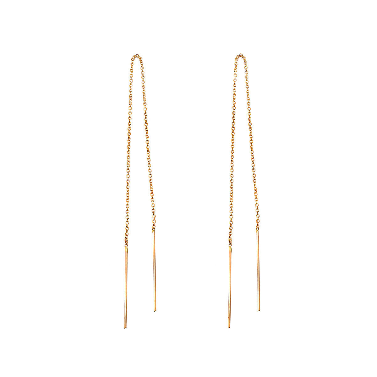 Needle and Thread Earrings