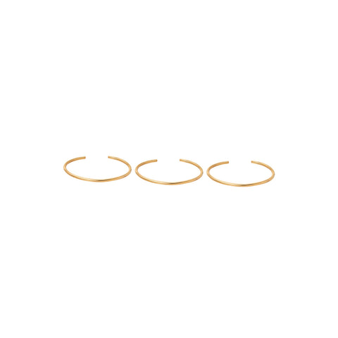 3 Initial and 2 Lili Ring Set