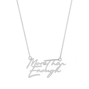 More Than Enough Necklace - 14k Gold