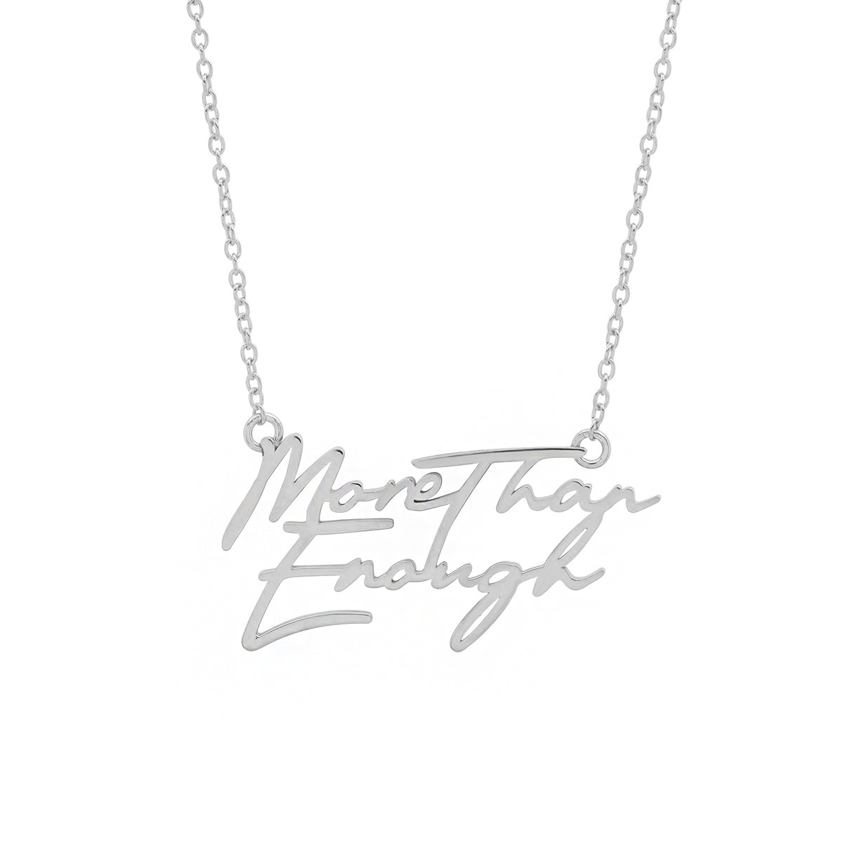 More Than Enough Necklace - Silver