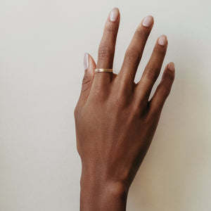 Gold Filled 3 Zoe Ring Set