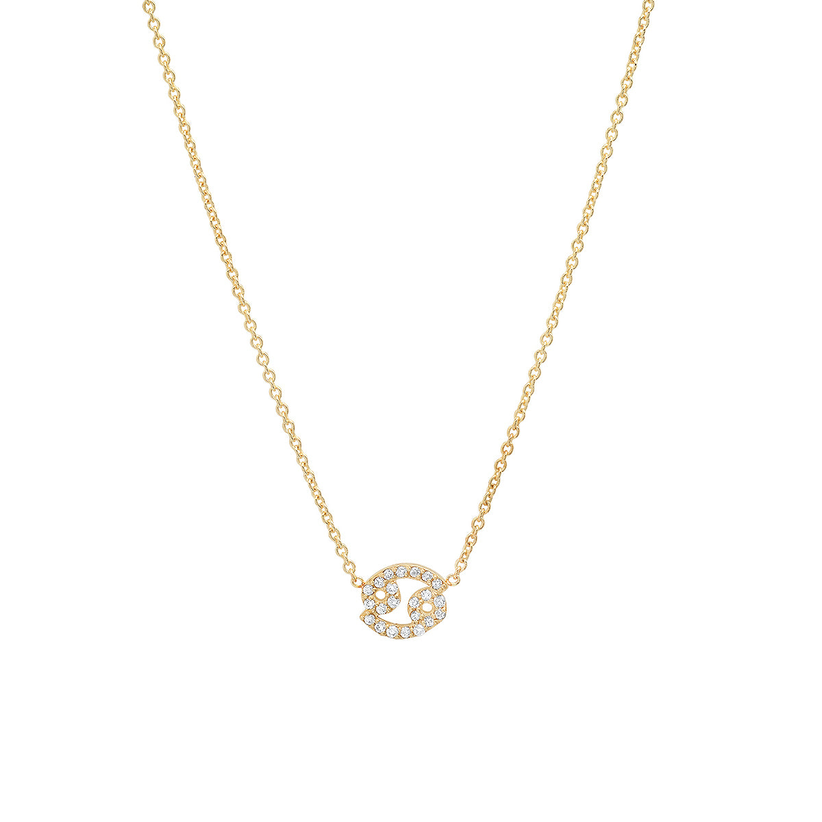 Diamond Cancer Necklace