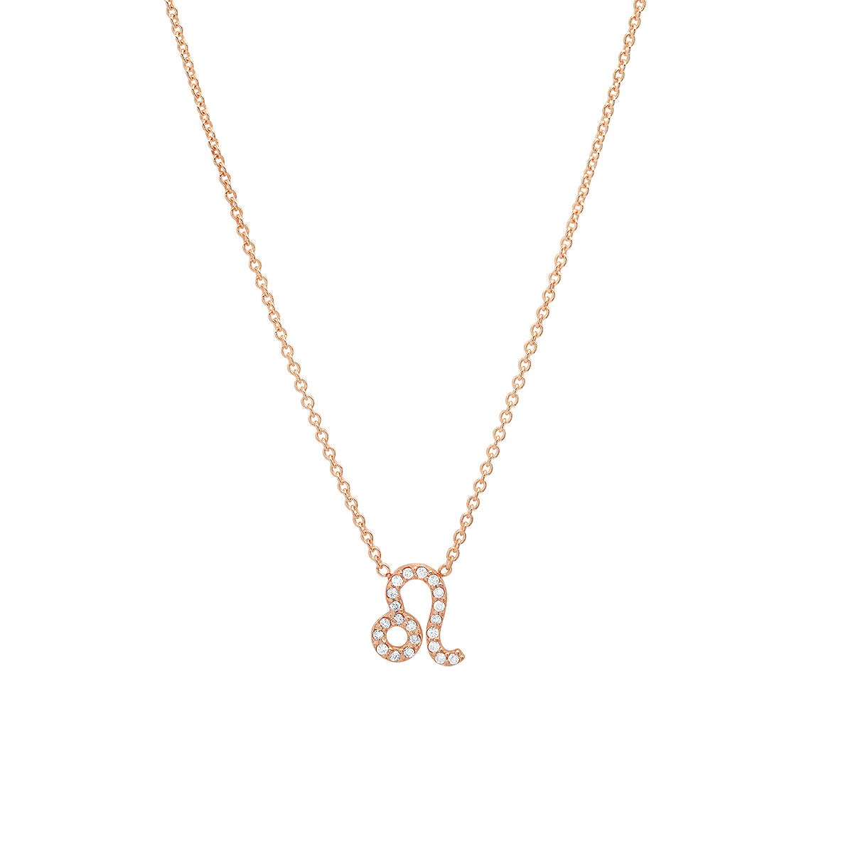 Diamond Leo Necklace