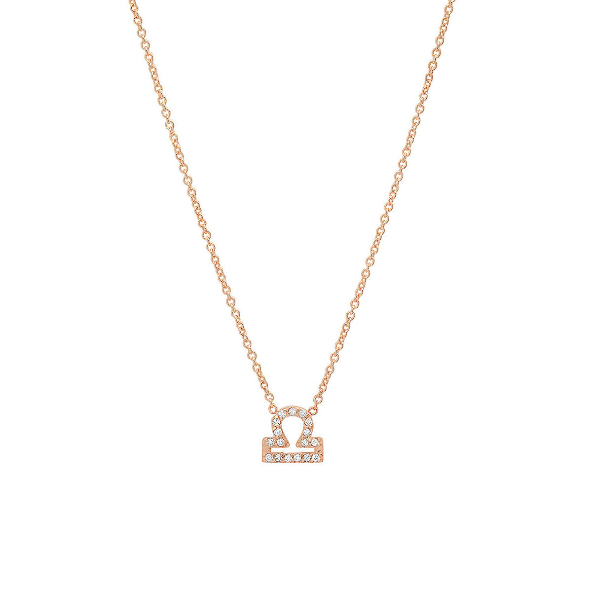 Diamond Libra Necklace