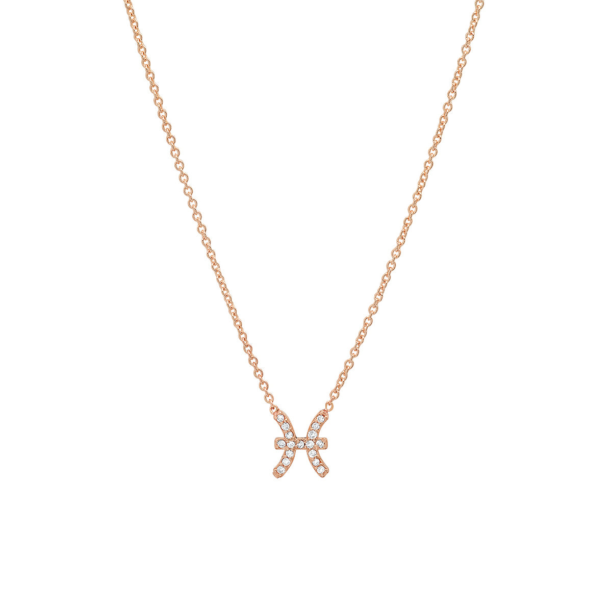 Diamond Pisces Necklace