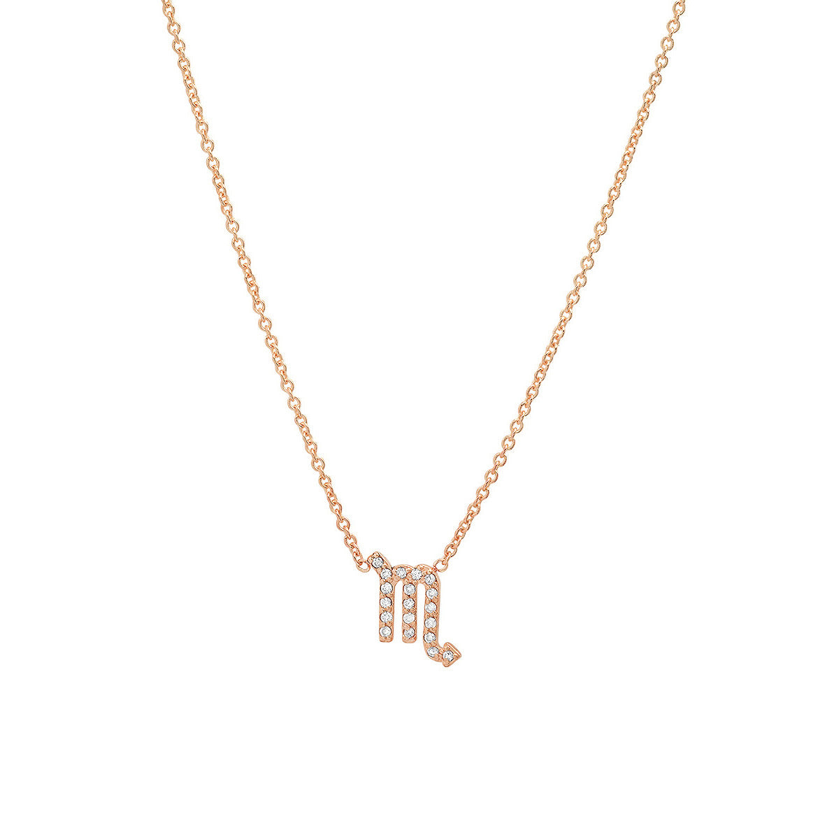 Diamond Scorpio Necklace