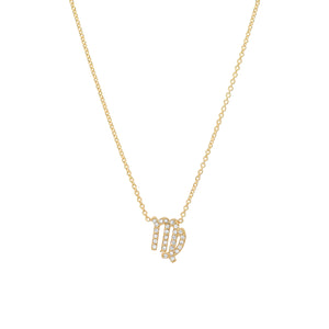 Diamond Virgo Necklace