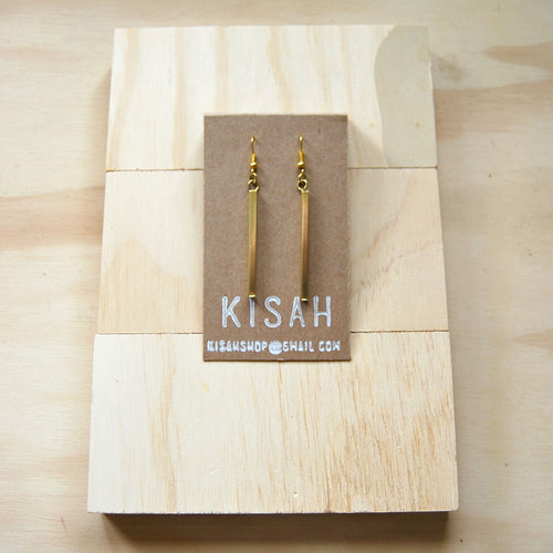 Eve Brass Earrings