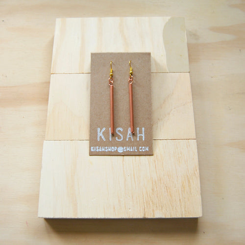 Eve Copper Earrings