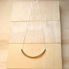 Emma Brass Sterling Silver Chain