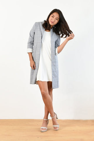 Olivia Lightweight Coat by Ten Tomorrow
