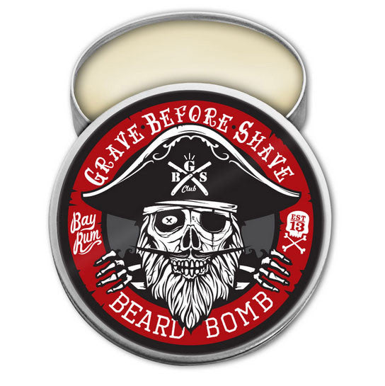 Grave Before Shave - Bay Rum Beard Bomb, 2oz