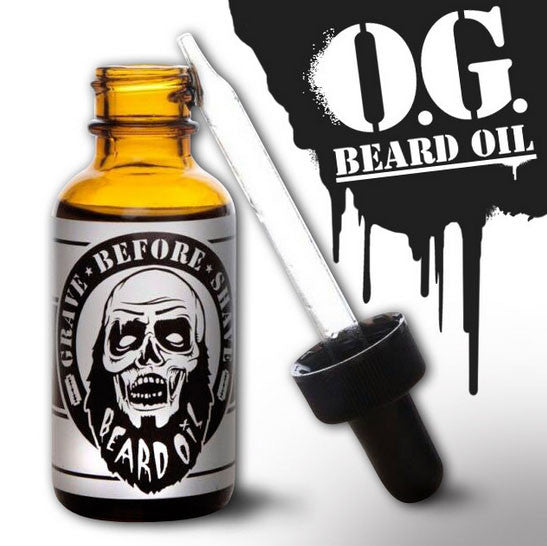 Grave Before Shave - Original Beard Oil, 1 oz.