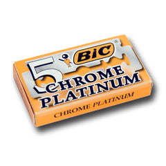 Bic - Chrome Platinum Razor Blades,  10 ct.