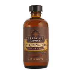 Captain's Choice - Cat O' Nine Tails Aftershave, 4 oz.