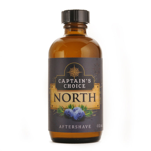 Captain's Choice - North Aftershave, 4 oz.