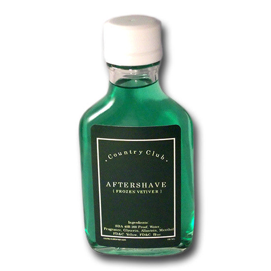 Country Club - Frozen Vetiver Aftershave, 100ml