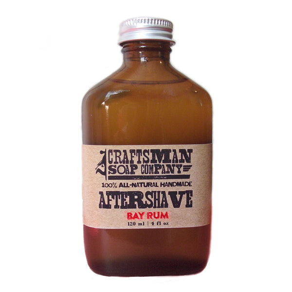 Craftsman Soap Co. - Bay Rum Aftershave, 4 oz.