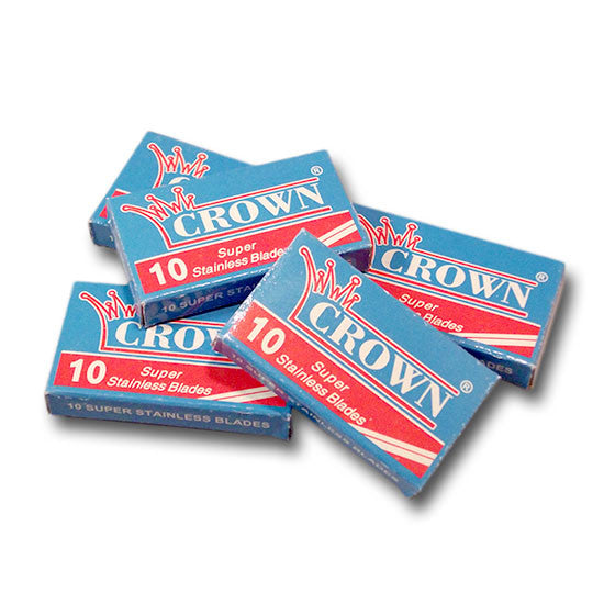 Crown - Super Stainless Razor Blades, 50 ct.