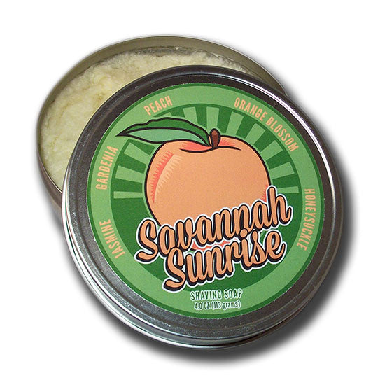 Dr. Jon's - Savannah Sunrise Shaving Soap, 4 oz.
