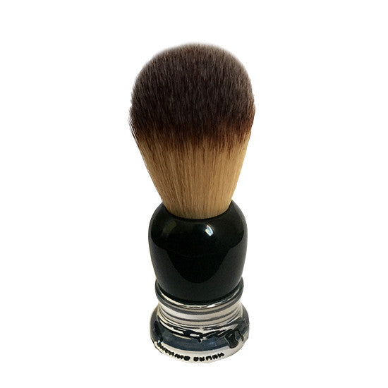 Fine - Angel Hair Synthetic Shaving Brush (Black)