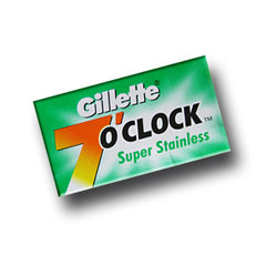 Gillette - 7 O'clock Super Stainless Razor Blades, 10 ct.