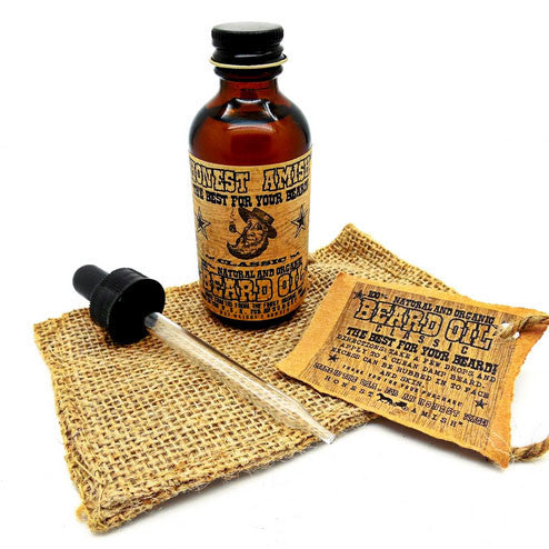 Honest Amish - Classic Beard Oil, 2oz
