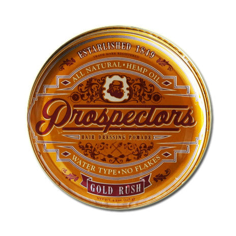 Prospectors - Gold Rush Hair Dressing Pomade, 4.5oz.