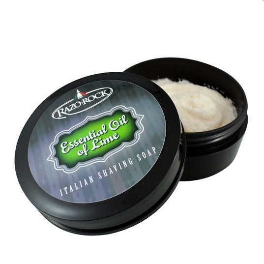 RazoRock - Essential Oil of Lime Shaving Soap, 125ml